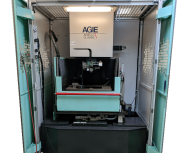 Agie Classic 3S Wire EDM with Gaiser EDM Tooling